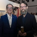 City of Ottawa's Jonathan Brown with Danny Hussey of Central Art Garage
